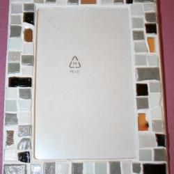cadre photo en mosaique, modèle mosaique, création mosaique artisanale