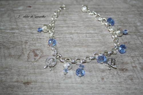Bijoux fantaisie bijoux artisanal atelier de samantha creation bijoux fantaisie bracelet breloque bracelet charm 1