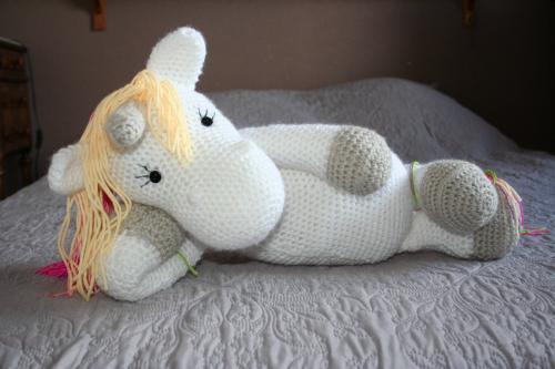 Licorne amigurumi licorne crochet peluche licorne licorne unicorne 2