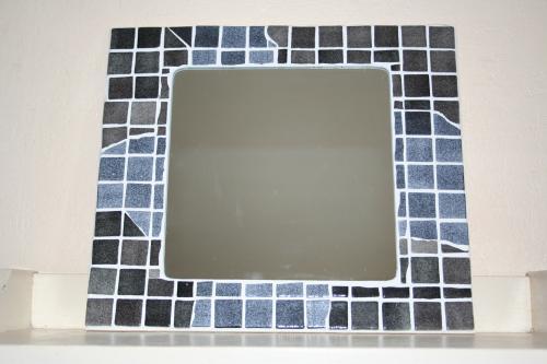 Mosaique artisanale miroir mosaique l atelier de samantha creation artisanale 1