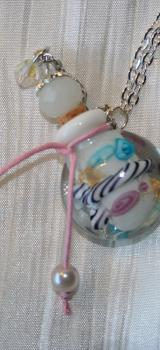 Pendenti fiole flacon a parfum ou huile essentielle perle faite a la main lampwork l atelier de samantha 7