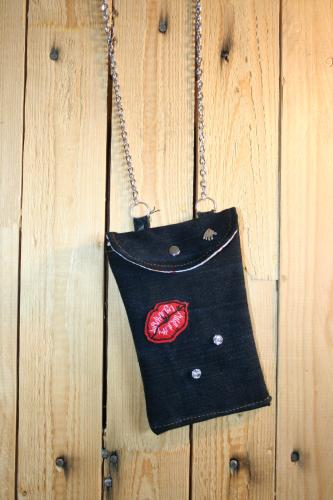 Pochette jean recycle creation sac a main l atelier de samantha creation jean recycle 3 1