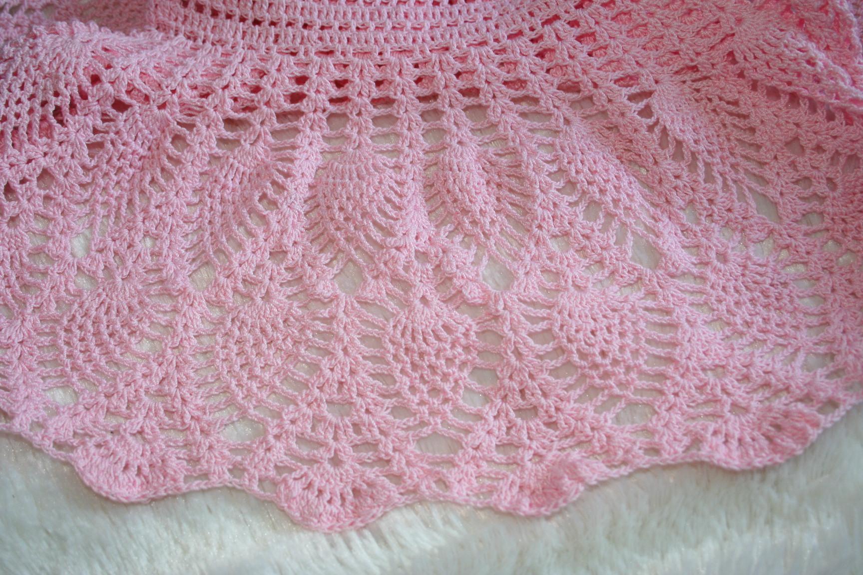 Robe Bébé Crochet