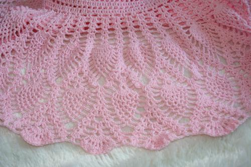 Robe bebe crochet l atelier de samantha creation bebe creation crochet creation bijoux 4